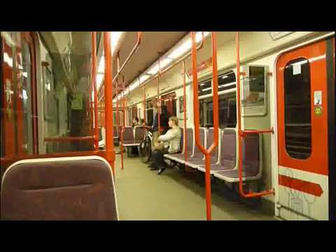 Ritje in de metro van..