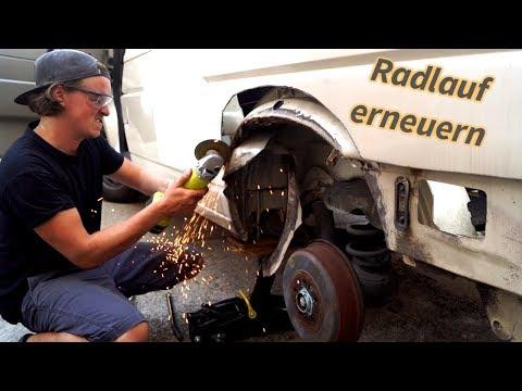 ROST ENTFERNEN MIT MATHISOX - RADLÄUFE ERNEUERN - VW T4 CAMPER AUSBAU F.04