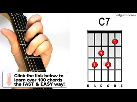 C7 - Groovy Guitar Chord Lessons