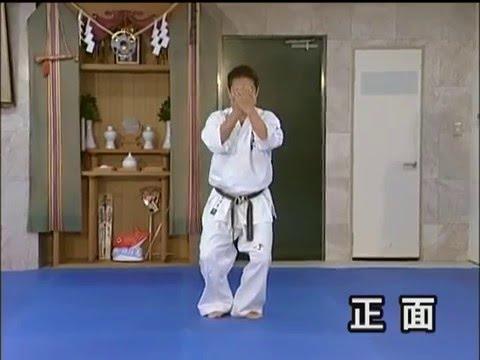 Sushi ho. (kata) Kyokushin karate