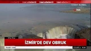 İzmir'de Dev Obruklar Oluştu