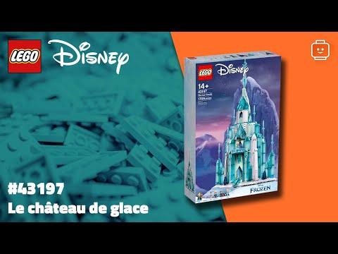 Vidéo LEGO Disney 43197 : Le château de glace