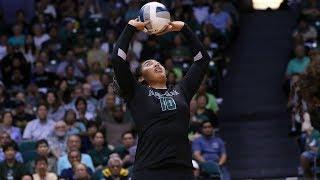 Rainbow Wahine Volleyball 2017 - Hawaii Vs UC Davis