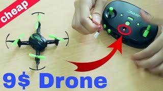 Cheap JJRC Mini Drone Unboxing and Review || only for 9$ || JJRC Drones