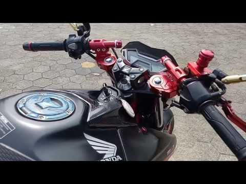 Video Modifikasi Honda Cb150r #Part 3 + review harga full aksesoris