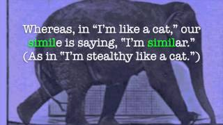 Analogies, Metaphors, and Similes