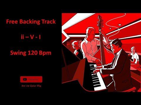 2-5-1 Jazz Backing Track - Circle Of Fourths - 12 keys