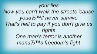 Aerosmith - Freedom Fighter Lyrics