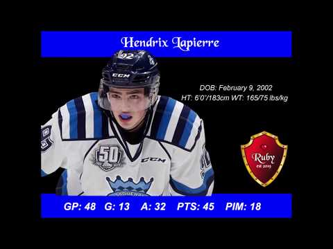 Hendrix Lapierre Scouting Report