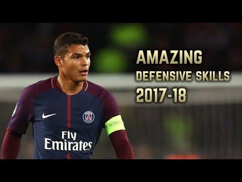 Thiago Silva 2017-18 | Amazing Defensive Skills