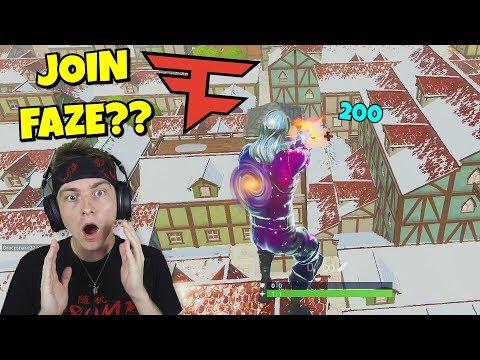 FAZE members will be SHOCKED i hit these trickshots... (amazing)