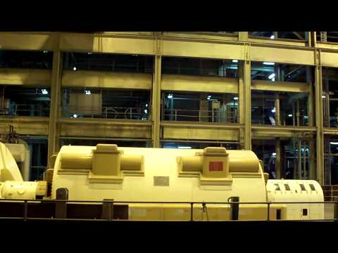 my  visit to a thermal generating power plant