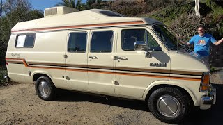 This 1987 Dodge Camper Van Is an Amazing 1980s RV Relic
