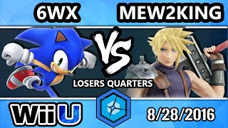 Shine 2016 Smash 4 - Echo MVG | Mew2King (Cloud) Vs. Circa | 6WX (Sonic) SSB4 Losers Quarters