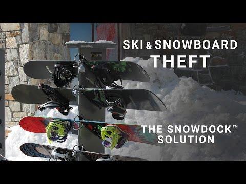 Ski & Snowboard Theft - The SnowDocK® Solution