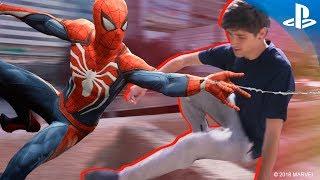 Un día de parkour con Mario García, actor de doblaje de Spider-Man en Marvel's Spider-Man