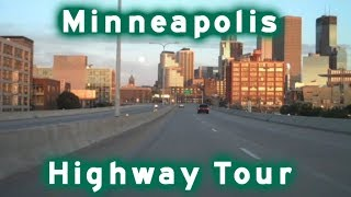 Highway Tour of Minneapolis