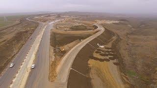 Трасса «Таврида» 4К: Строительство развязки автоподходовъ къ мосту