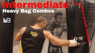 Intermediate Heavy Bag Combinations. SESSION 2 by NateBowerFitness