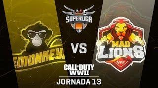 EMONKEYZ VS MAD LIONS E.C. | Superliga Orange COD | (Jornada 13)