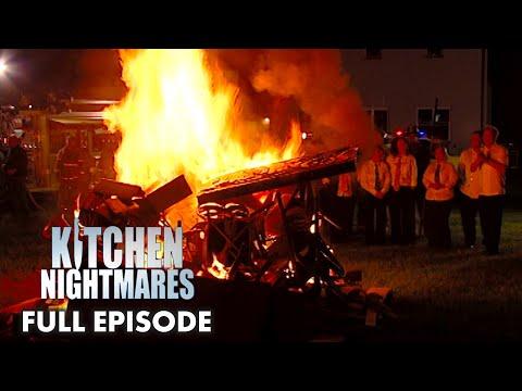 Gordon Ramsay Sets FIRE To Restaurant Decoration | Kitchen Nightmares FULL EPISODE