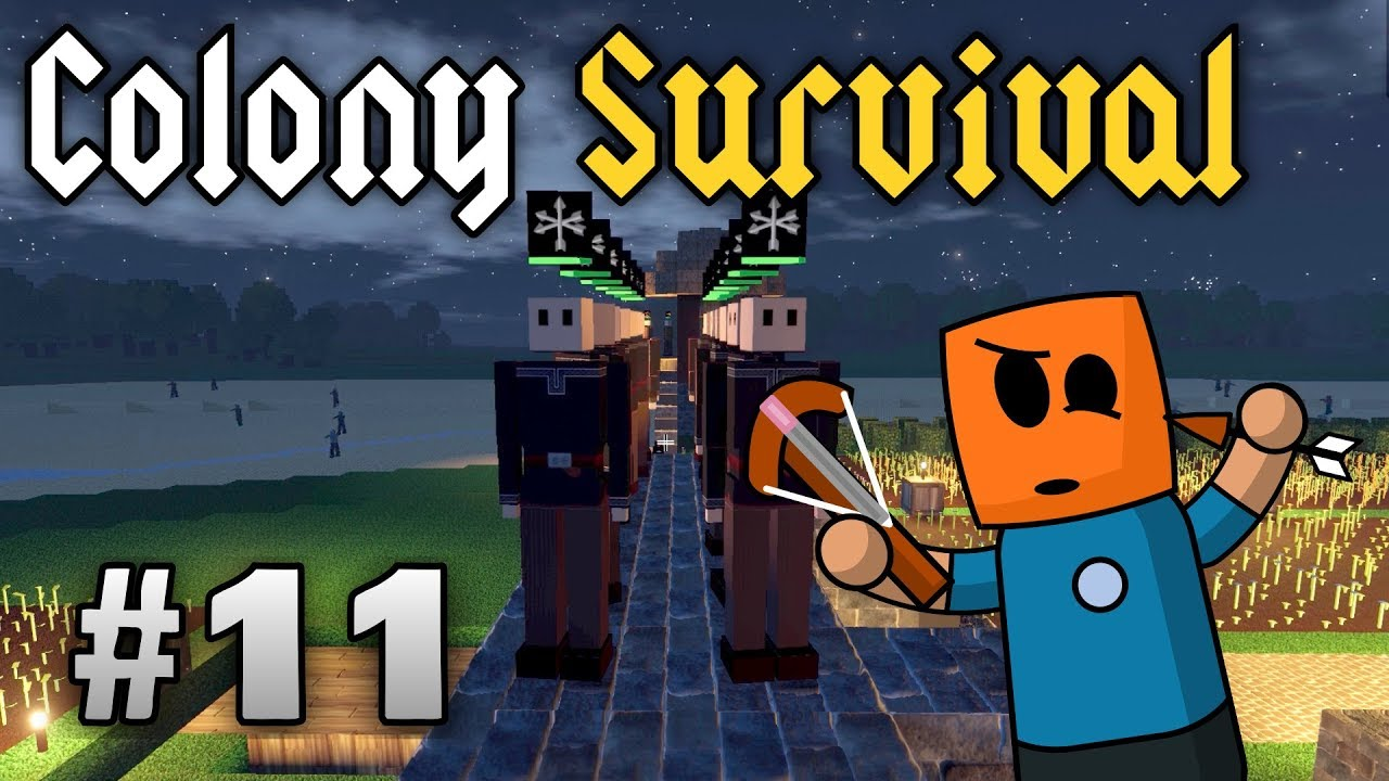 Colony Survival ep11 | Crossbow Guards and Builders