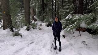 Hiking Lynn Peak Trail &  Review of Microspikes and Yaktrax