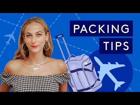 Packing Hacks For Fashionable Travel | Vacation Like A Pro | Refinery29