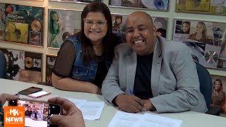 Midian Lima E Pr. Eliel Lima   Visita à MK Music E Assinatura De Gestão De Canal (#MKnãoPARA)