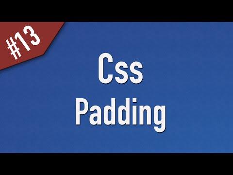 تعلم CSS القائمة #1 الفديو #13