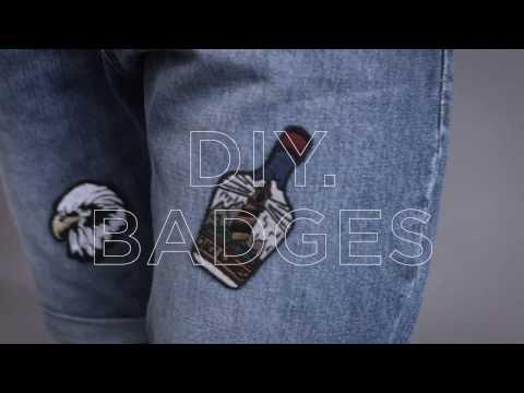HOW TO ADD BADGES ON DENIM | JACK & JONES