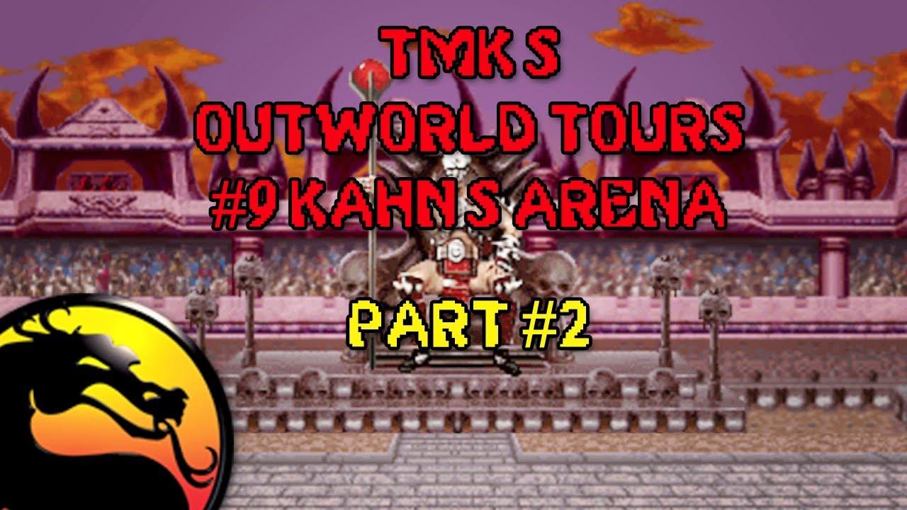 Crazy Man Fights Himself In Mortal Kombat