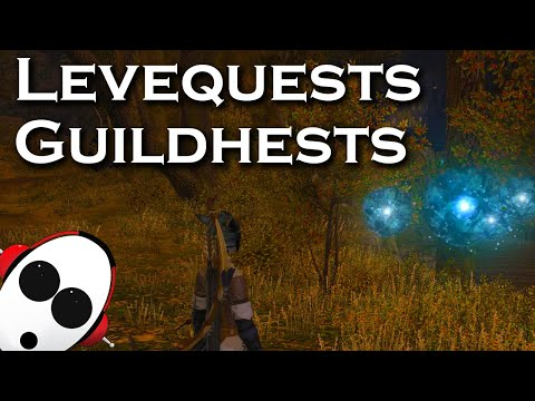 Levequests and Guildhests | Final Fantasy XIV in 2019 with Tiny Blue Games