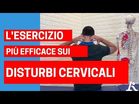 Video di ricarica per il video cervicale osteocondrosi toracica