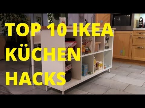 TOP 10 (IKEA)-Küchen-HACKS / DIY Kreatives für die Küche!