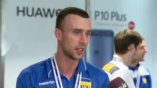 Волейбол. Дмитрий Сторожилов - связующий сборной Украины, о победе в Евролиге