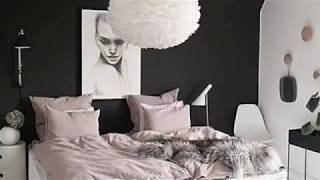 Stylish Bedrooms With Black Walls | Home Decor Ideas |