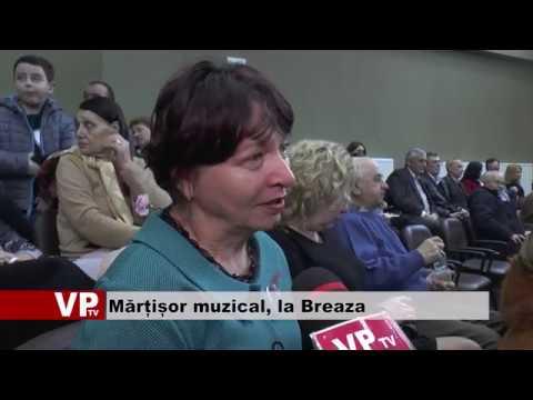 Mărțișor muzical, la Breaza
