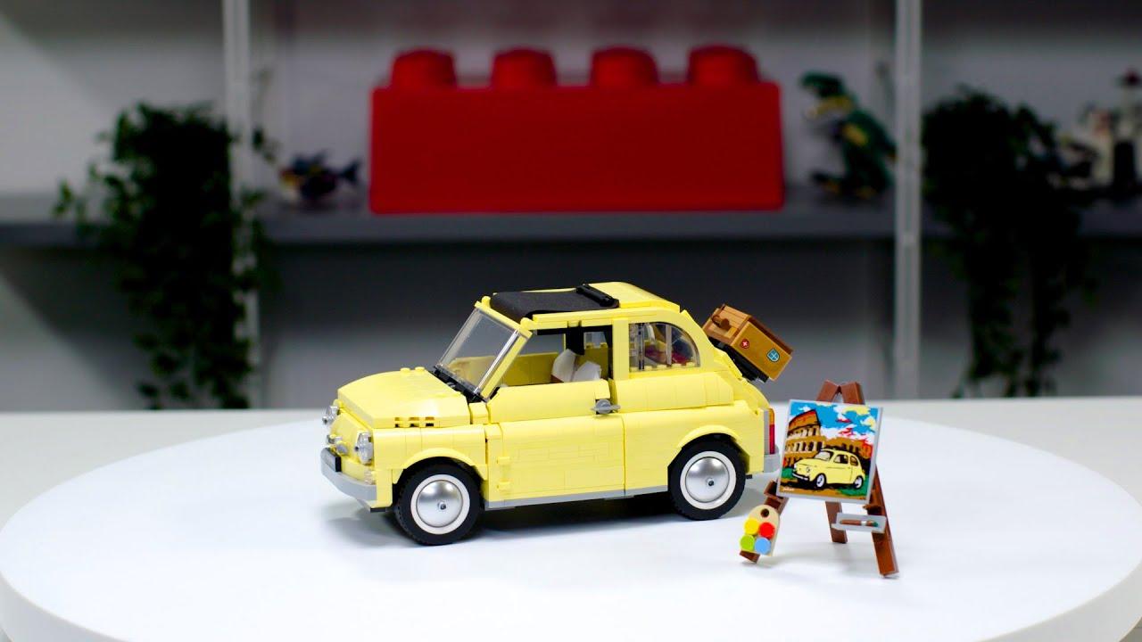 LEGO Creator Expert Fiat 500 | LEGO Designer Video 10271