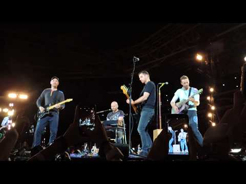 Coldplay - In My Place (Will Champion singing) live in Sao Paulo, Brazil 11/07/17 HD