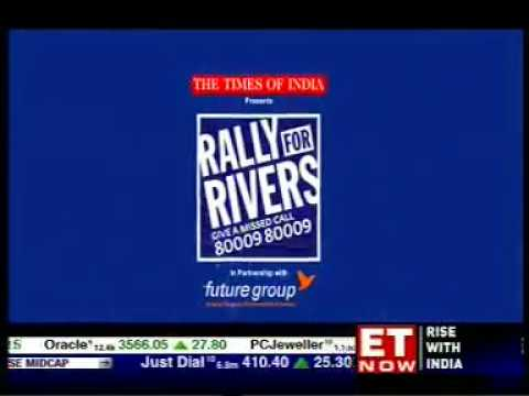 ET NOW - Rally for Rivers - 19/09/17