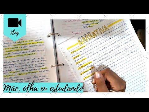 VLOG: ESTUDANDO PARA A PROVA + COMO FAÇO MEUS RESUMOS | STUDY WITH ME | Livraneios