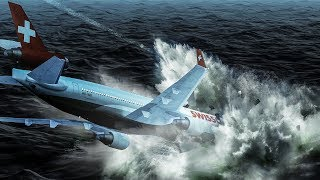 Crashing Into the Atlantic Ocean at 350 mph   Fire in the Air   Swissair Flight 111