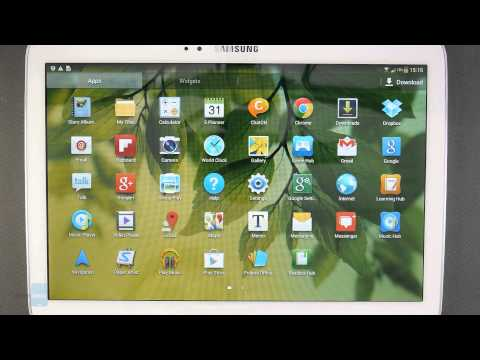 Samsung Galaxy Tab 3 10.1 Preview