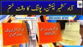 AJK Election Results Update, Azad Kashmir Election 2021 Polling ka Waqt Khatm..!