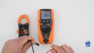 HT NEPTUNE Tutorial - Misura di corrente con trasduttore a pinza esterno