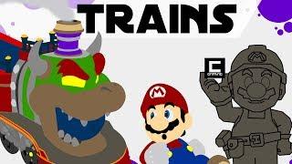5 Designs for Trains in Super Mario Maker. | Kholo.pk