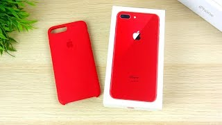 RED iPhone 8 Plus Unboxing & First Impressions!