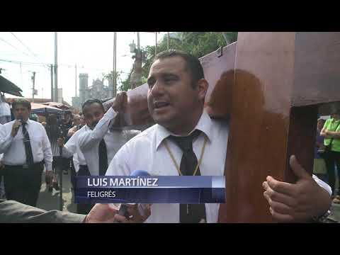 San Salvador y Panchimalco viven el fervor religioso en Semana Santa