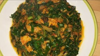 How To Make Quick Efo Riro